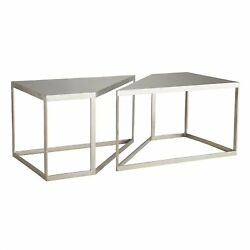 40 Long Coffee Table Modern Vintage Silver White Antique Brass Gold Iron Marble