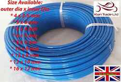 Blue Polyurethane Flexible Tubing Pneumatic Pu Pipe Tube Hose - Air Fuel Oil