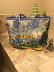 New Louis Vuitton X Jeff Koons Masters Collection Van Gogh Neverfull MM