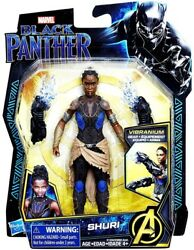 Marvel BLACK PANTHER SHURI 2018 - Vibranium Gear Marvel Legends NEW