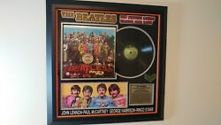 Beatles SGT. Peppers Lonely Hearts Club Band Album Signed By All 4 Beatles RARE!