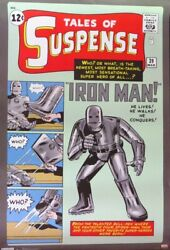 Iron Man-tales Of Suspense Comic- Poster-laminated Available-90cm X 60cm-bran...