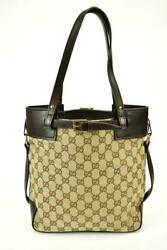 Authentic GUCCI: Brown Leather &