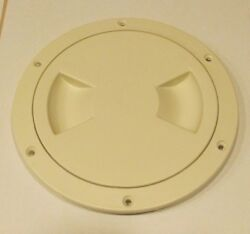 Viking Marine Boat Bisque 5 Access Hatch Cover Twist Out Deck Plate Sale