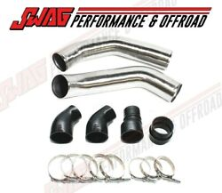 Stainless Steel Polished Intercooler Pipes For 13-18 Ram 6.7 6.7l Cummins Diesel