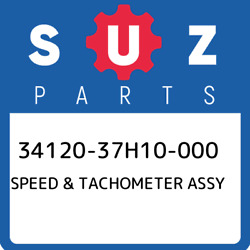 34120-37h10-000 Suzuki Speed And Tachometer Assy 3412037h10000 New Genuine Oem Pa