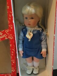 Doll 14 Kathe Kruse In Box Made In Germany