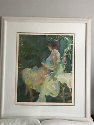 John Asaro Bernadette And Ginger Serigraph On Paper Coa. Local Pick Up Only