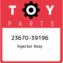 23670-39196 Toyota Injector Assy 2367039196, New Genuine Oem Part