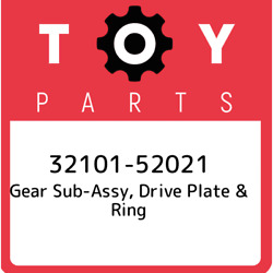 32101-52021 Toyota Gear Sub-assy Drive Plate And Ring 3210152021 New Genuine Oem