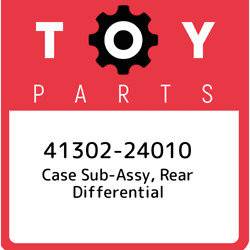 41302-24010 Toyota Case Sub-assy Rear Differential 4130224010 New Genuine Oem
