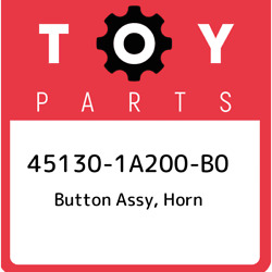 45130-1a200-b0 Toyota Button Assy Horn 451301a200b0 New Genuine Oem Part