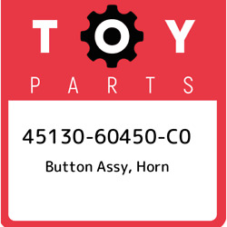 45130-60450-c0 Toyota Button Assy Horn 4513060450c0 New Genuine Oem Part