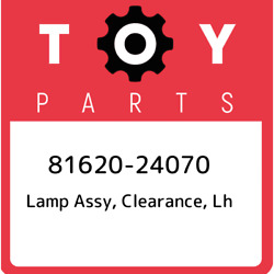 81620-24070 Toyota Lamp Assy Clearance Lh 8162024070 New Genuine Oem Part