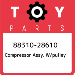 88310-28610 Toyota Compressor Assy W/pulley 8831028610 New Genuine Oem Part
