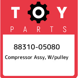 88310-05080 Toyota Compressor Assy, W/pulley 8831005080, New Genuine Oem Part