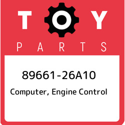 89661-26a10 Toyota Computer Engine Control 8966126a10 New Genuine Oem Part