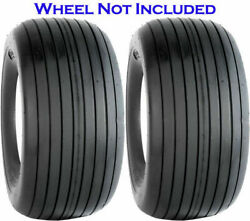 Transmaster Rib Tubeless S317 Lawn And Garden Tire 4ply 11x4.00-5 Pack Of 2