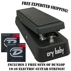 **DUNLOP GCB95 THE ORIGINAL CRY BABY WAH GUITAR EFFECTS PEDAL FOOTSWITCH**