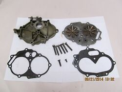 1957 Evinrude Carburetor Intake And Reed Plate With Hardware 18 Hp