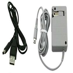 Ac Wall Plug Charger & Usb Power Adapter Cable For Nintendo 3Ds Dsi Xl Kids Gam