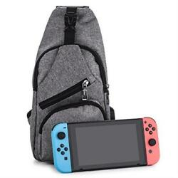 Myriann Nintendo Switch Backpack Crossbody Travel Bag For ConsoleJoy-Cons And