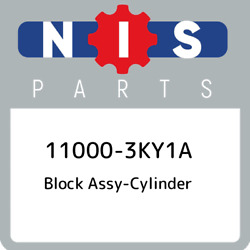 11000-3ky1a Nissan Block Assy-cylinder 110003ky1a, New Genuine Oem Part
