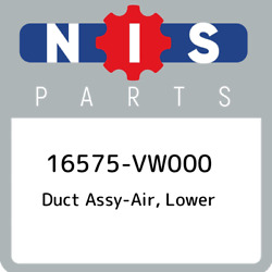 16575-vw000 Nissan Duct