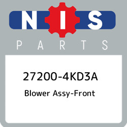 27200-4kd3a Nissan Blower Assy-front 272004kd3a New Genuine Oem Part