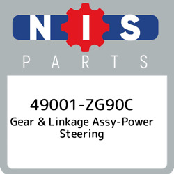 49001-zg90c Nissan Gear And Linkage Assy-power Steering 49001zg90c New Genuine Oe