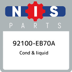 92100-eb70a Nissan Cond And Liquid 92100eb70a New Genuine Oem Part