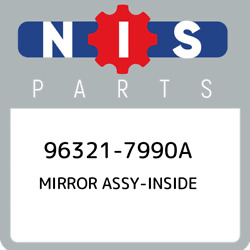 96321-7990a Nissan Mirror Assy-inside 963217990a New Genuine Oem Part
