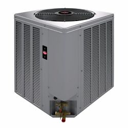 RHEEM WEATHERKING 14 SEER 4 TON CENTRAL AIR  CONDENSING UNIT COIL AND FURNACE