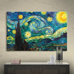 Artwall Starry Night By Vincent Van Gogh Gallery Wrapped Canvas
