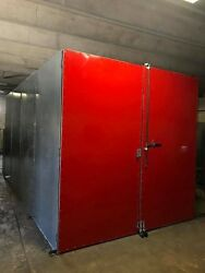 Gas Powder Coat Oven 8and039 X 8and039 X 12