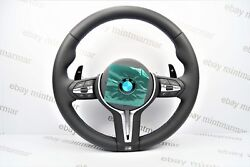 New BMW X5 M Heated Steering Wheel with Vibration Motor & Shift Paddles F15 3180