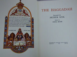 The Haggadah Executed By Arthur Szyk Edited By Cecil Roth 1962 In Slipcase