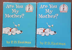 Are You My Mother? PD Eastman HBDJ Early Edition I Can Read Vintage Childrens
