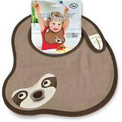 Fred & Friends Chill Baby Sloth Bibs 2 Count Machine Washable Fred & Friends