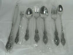 7 Pc Oneida Distinction Deluxe Hh Raphael Service For One-stainless-nip