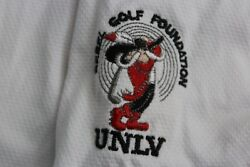 Oakley White UNLV Golf Foundation POLO SHIRT XL Extra Large $9.18