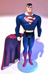Warner Bros Wbss Superman Maquette 12 Bruce Timm And Randy Bowen Statue Bust Toy