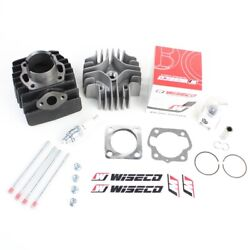 Cylinder Wiseco Piston Gasket Head Top End Kit for Kawasaki KDX50 2003-2006