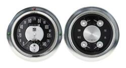 1954-1955 Chevrolet Chevy Truck Direct Fit Gauge American Tradition Ct54at62