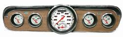 1965-1966 Ford Mustang Direct Fit Gauge Velocity White Mu65vsw35