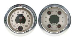 1954-1955 Chevrolet Chevy Truck Direct Fit Gauge American Nickel Ct54an62
