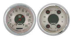 1951-1952 Chevrolet Chevy Direct Fit Gauge American Nickel Ch51an52