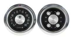 1954-1955 Chevrolet Chevy Truck Direct Fit Gauge American Tradition Ct54at52