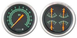 1947-1953 Chevy Gm Pick-up Direct Fit Gauge G-stock Ct47gs52