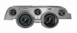 1967-1968 Ford Mustang Direct Fit Gauge Traditional Mu67trba